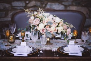 Table setting at Fintry