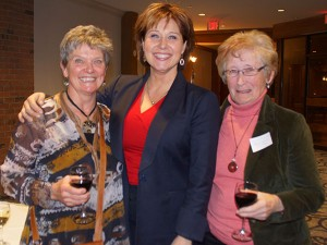Premier Clark with Fintry Board members