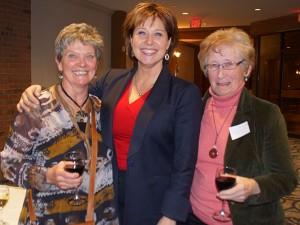 Premier Clark with Fintry Board members