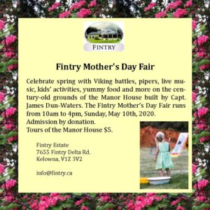 Fintry Spring Fair @ At the Fintry Manor House